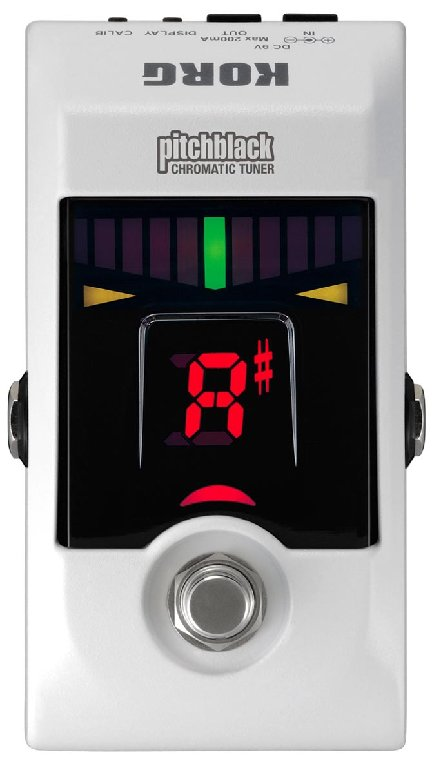 Korg pitchblack wh floor tuner stimmger t bodentuner for 13th floor pitch black