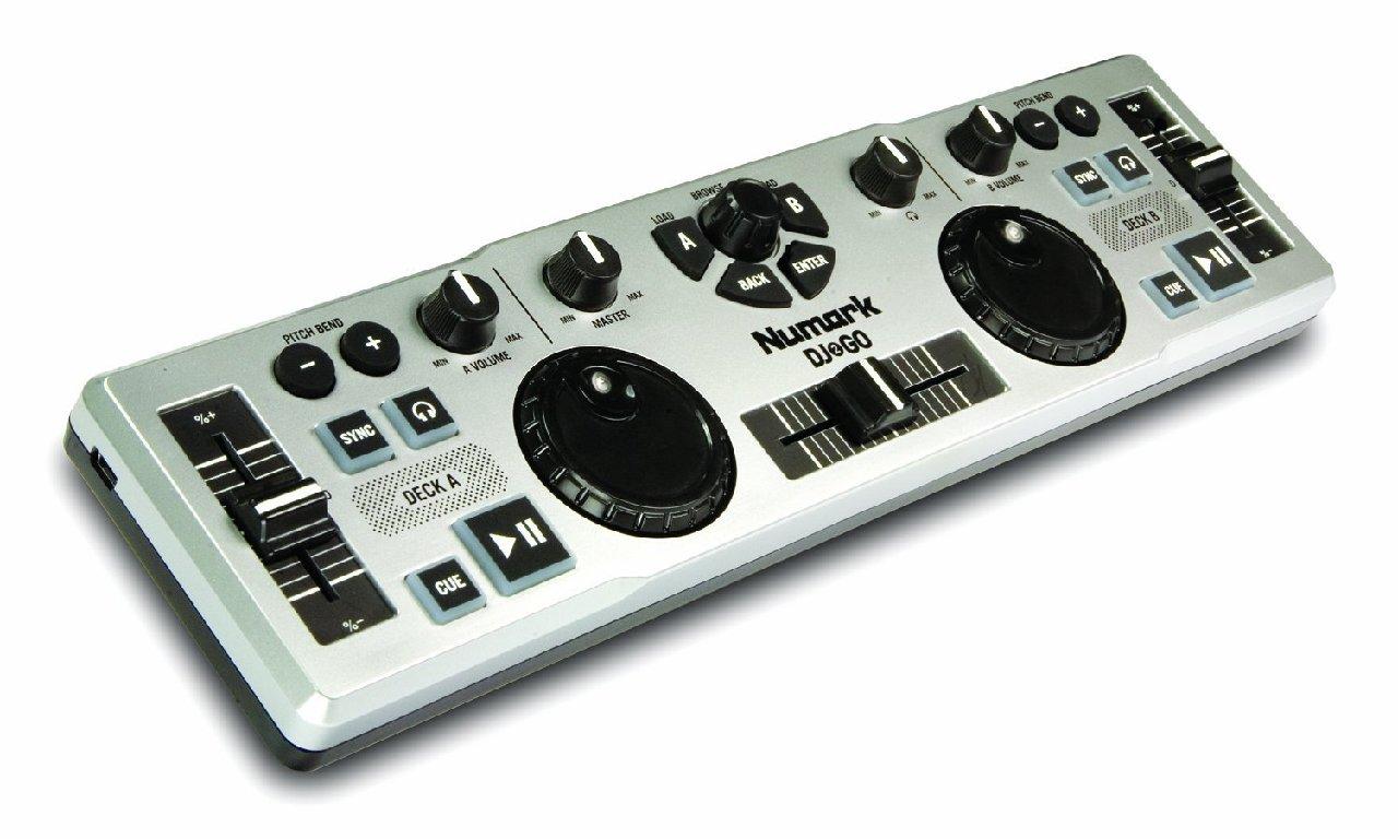 numark dj 2 go usb midi controller mixer dj2go virtual dj le software ebay. Black Bedroom Furniture Sets. Home Design Ideas